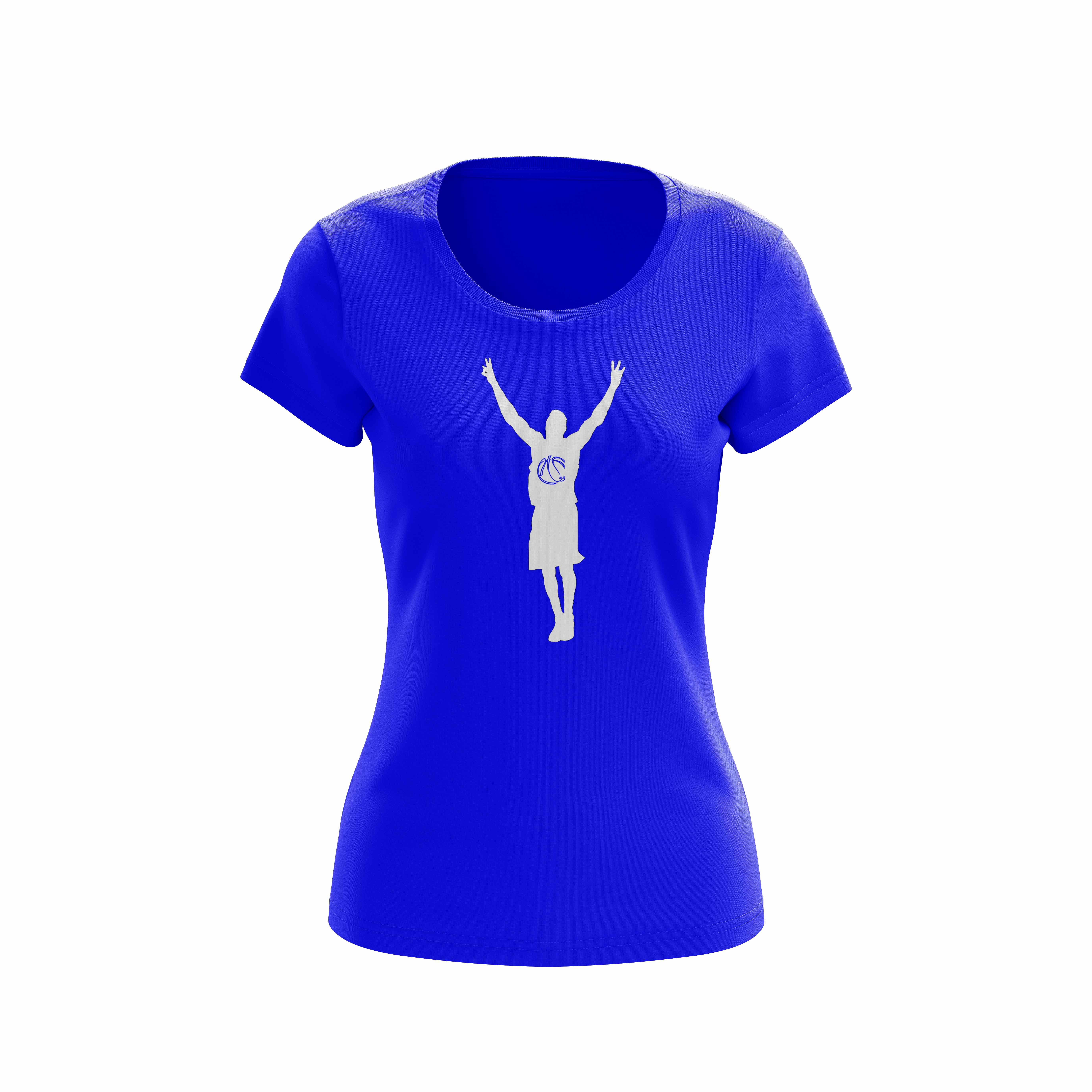 Robert-Covington-Ladies-Blue-Shirt